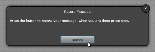 record voice message